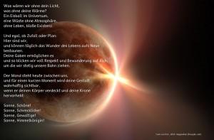 Gebet zur Sonnenfinsternis-Ostara 2015