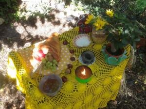 Mabon-Altar 2015 II